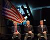 L to R : Scott Carpenter, John Glenn, Steve Robinson