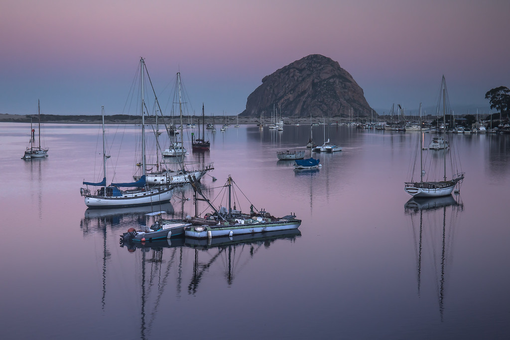 Dawn Morro Bay Marina