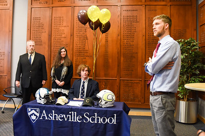 J.P. Schill Signs to Play Football at Centre College