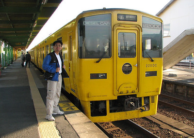 IMG_8406 ibusuki -train back to kagoshima