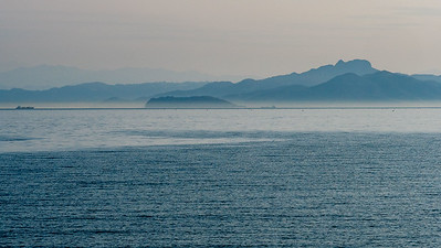 Seto Inland Sea, view from Shodoshima