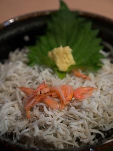 Whitebait - an Enoshima specialty