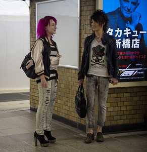 Nice street fashion.