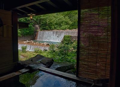 Beautiful Taeonyu Onsen, Akita Prefecture