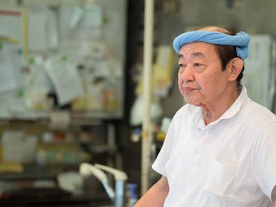 A store keeper in Niigata