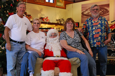 67 Santa visits J&P Cycles Florida Superstore