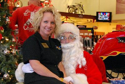 72 Santa visits J&P Cycles Florida Superstore