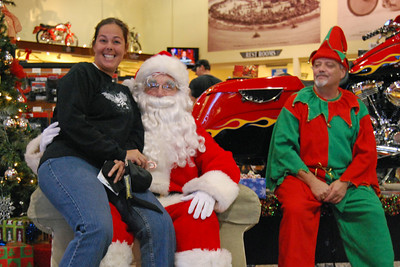 50 Santa visits J&P Cycles Florida Superstore