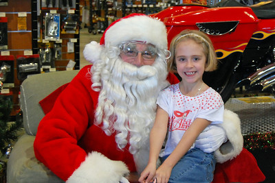 90 Santa visits J&P Cycles Florida Superstore