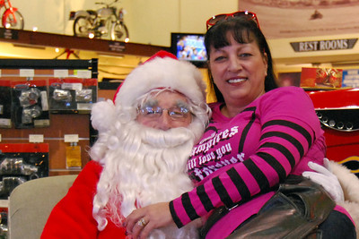 55 Santa visits J&P Cycles Florida Superstore