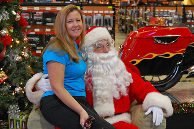 77 Santa visits J&P Cycles Florida Superstore