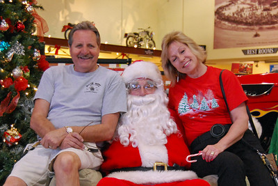 75 Santa visits J&P Cycles Florida Superstore