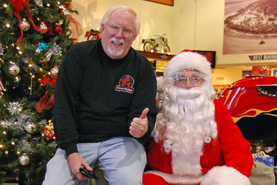 60 Santa visits J&P Cycles Florida Superstore