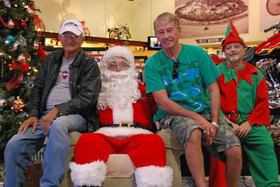 52 Santa visits J&P Cycles Florida Superstore