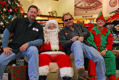 56 Santa visits J&P Cycles Florida Superstore