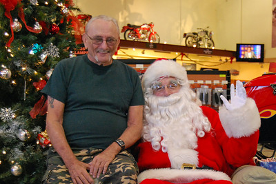 66 Santa visits J&P Cycles Florida Superstore