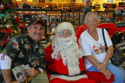 91 Santa visits J&P Cycles Florida Superstore