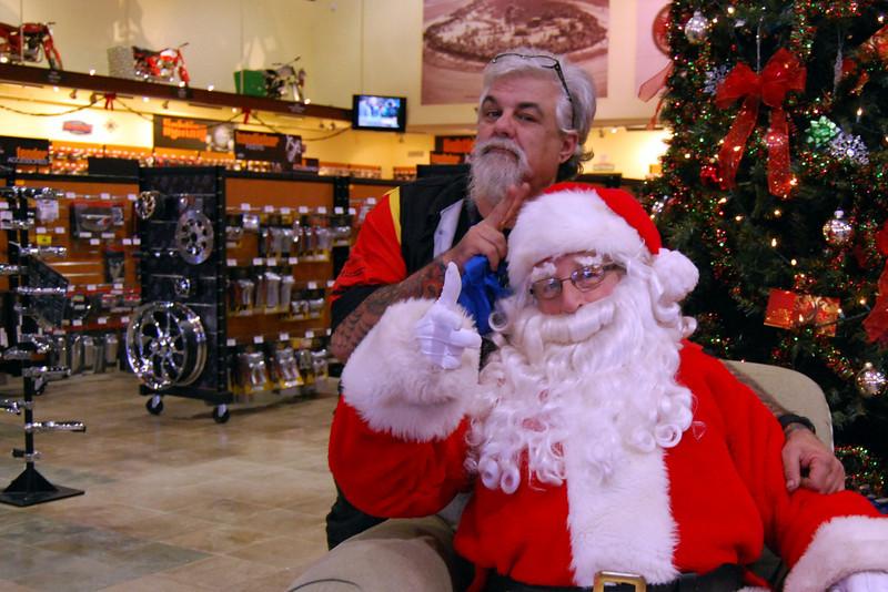 0919 2012 Santa Visits J&P Cycles Florida Superstore