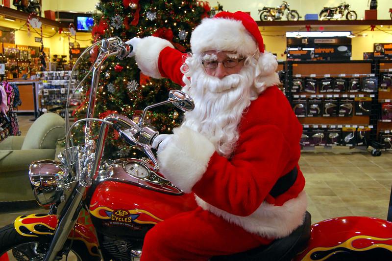 0930 2012 Santa Visits J&P Cycles Florida Superstore
