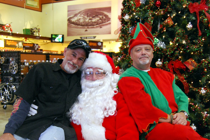 0934 2012 Santa Visits J&P Cycles Florida Superstore