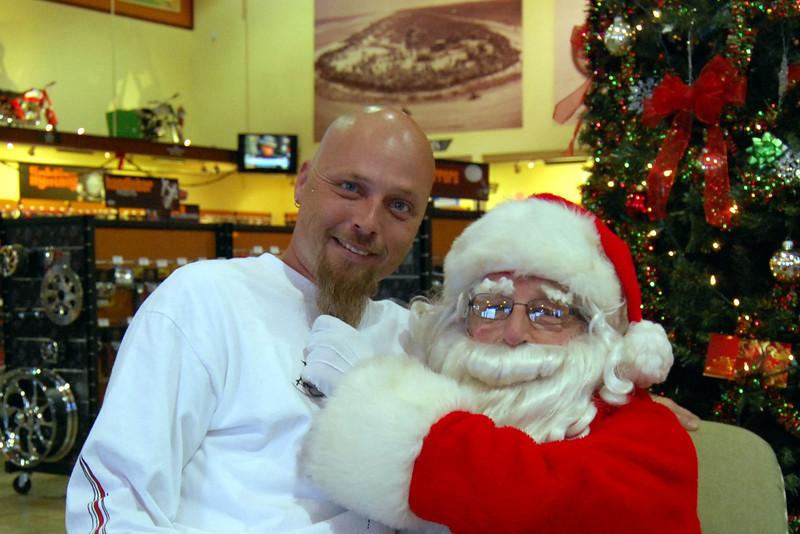 0925 2012 Santa Visits J&P Cycles Florida Superstore