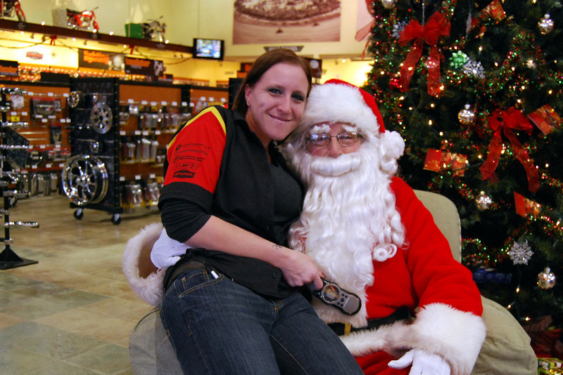 0917 2012 Santa Visits J&P Cycles Florida Superstore