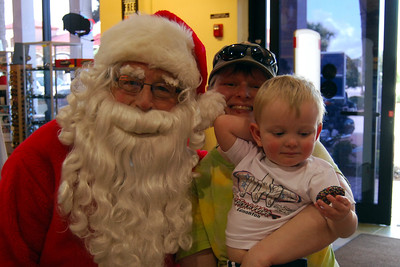 0950 2012 Santa Visits J&P Cycles Florida Superstore