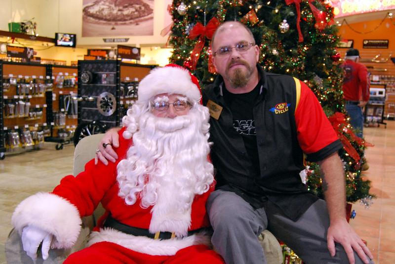 0927 2012 Santa Visits J&P Cycles Florida Superstore