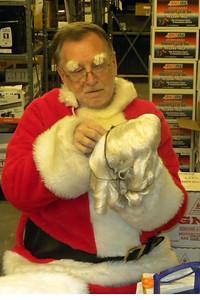 001 Santa preparing