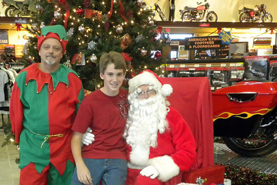 932 Christmas at J&P Cycles Destination Daytona Superstore