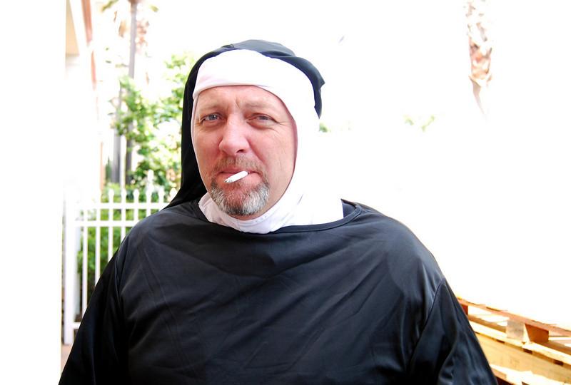 001 Chris Pearson the smoking nun