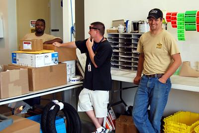 020 J&P Cycles warehouse guys hard at work