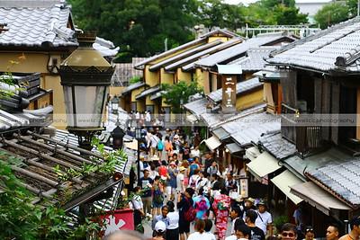 Sannenzaka and Ninenzaka Streets, Higashiyama, Kyoto, Japan