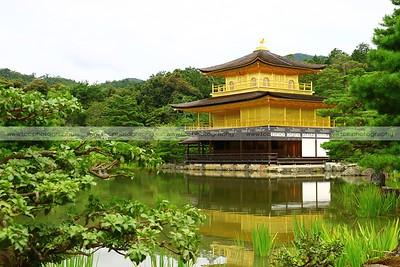 Kinkakuji Temple (Golden Pavilion), Kyoto, Japan