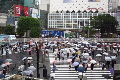 Shibuya Scramble Crossing, Tokyo, Japan