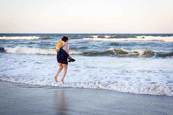 Felicity vs. the Atlantic Ocean