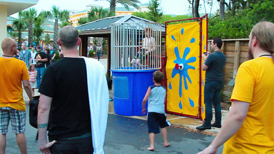 Adam Sontag gets dunked