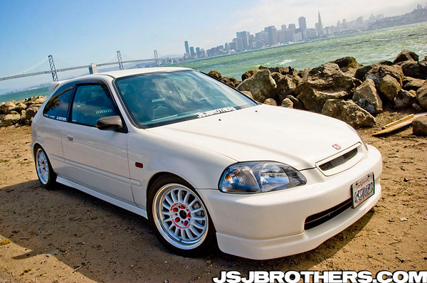 96 Honda Civic Hatchback EK