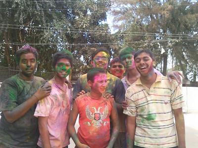 Dhuleti celebration