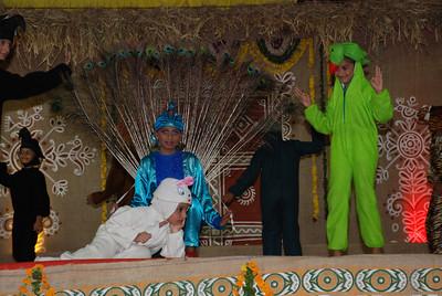 Peacock - Mansi Patel Rabbit - Bhavya Patel Parrot - Pratiti Patel Koyal - Rucha Soni Crow - Omkar Patel