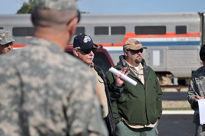 In this image released by the Texas Military Forces, Joint Task Force 71 representatives tour the National Emergency Response and Rescue Training Center in College Station, Texas, Wednesday, May 4, 2011.  The task force, headquartered out of Austin, is tasked to provide assistance to civil authorities during emergency situations. The facility provides local, state, and federal jurisdictions with high-quality, hands-on, scenario-driven leadership training, exercises, technical assistance, and strategy development.  (Photo/100th Mobile Public Affairs Detachment, Army National Guard Staff Sgt. Melissa Bright)