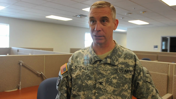 In this vide released by Joint Task Force 71, Guardsmen with the Joint Task Force 71 relocate their offices to the Round Rock Armed Forces Reserve Center as part of their integration with the 136th Manuever Enhancement Brigade in order to better serve the citizens of FEMA Region VI in the event of a natural disaster or terrorist incident. The integration and move, conducted September 17 through 21, will merge the two brigades into a single emergency response outfit, Joint Task Force 71 (Manuever Enhancement Brigade).