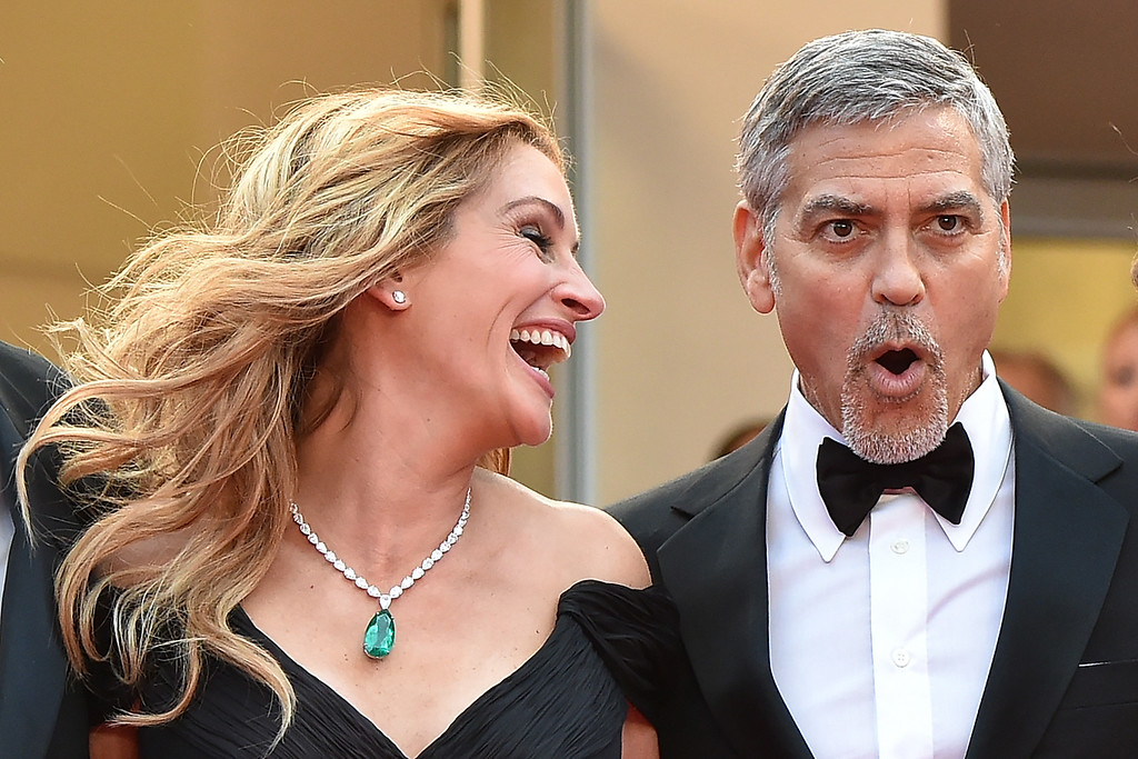 JULIA ROBERTS OG GEORGE CLOONEY SPIDER TV-ØKONOMERNE