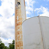 Kevin Harvison | Staff photo<br /> Pittsburg Rural Water District #11 was without water this week, and officials said they suspected  a problem with the Kiowa water tower was to blame.