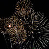 Kevin Harvison | Staff photo<br /> Fireworks expolode in the sky over State Highway 270 viewed from the Southeast Expo Wednesday night.