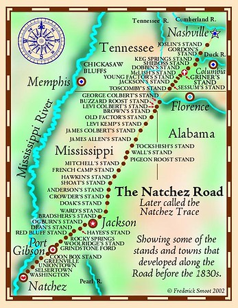 NATCHEZ TRACE PARKWAY ASSOCIATION | <br /> Old Natchez Trace
