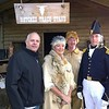 CATHEY PHOTO | <br /> Cathey and re-enactors of Choate Family and Andrew Jackson 2017 Return to Redbud Springs Festival.