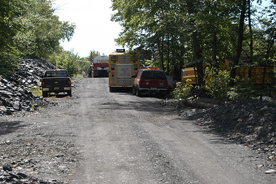 PINE GROVE TOWNSHIP STRUCTURE FIRE 7-5-2009 PICTURES BY COALREGIONFIRE