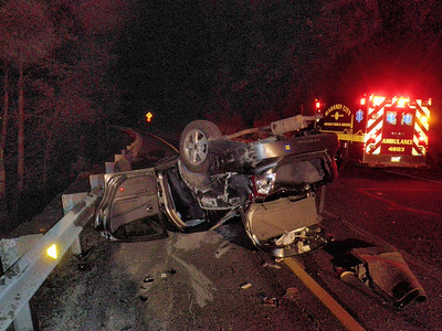 BLYTHE TOWNSHIP ROUTE 61 ST CLAIR GRADE SOUTH BOUND VEHICLE ACCIDENT 7-4-2010 PICTURES AND VIDEO BY COALREGIONFIRE