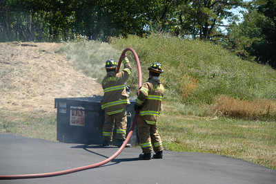 WEST MAHANOY TOWNSHIP DUMPSTER FIRE 7-3-2010 PICTURES BY COALREGIONFIRE